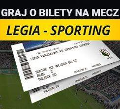 Wygraj bilety na mecz Legia – Sporting!