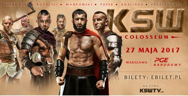 Znamy prawie wszystkie pojedynki na gali KSW Colosseum!