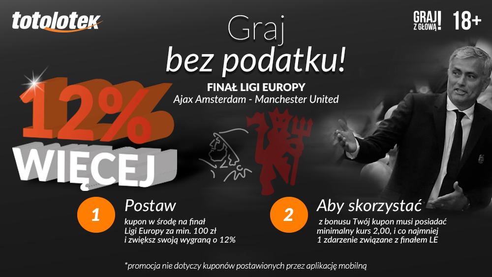 Specjalny bonus Totolotka na finał Ligi Europy!