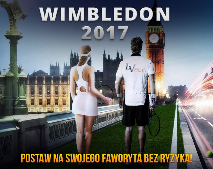 Zakład bez ryzyka na Wimbledon 2017 od LV BET!