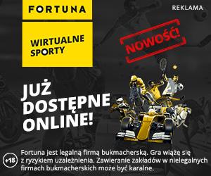 Promocja od Fortuny na Wirtualne Sporty!