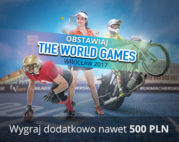 Promocja na The World Games Wrocław 2017!