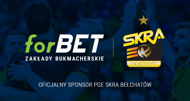 ForBET sponsorem PGE Skry Bełchatów!