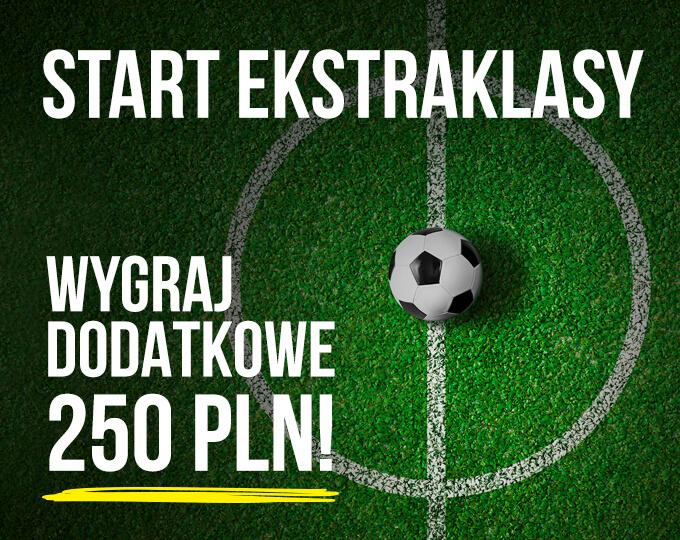 Darmowe 250 PLN na Ekstraklasę w LV BET!
