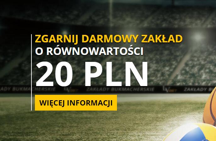 Odbierz 20 złotych za darmo na mecz Legii z Mariehamn!