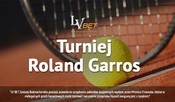 Konkurs LV BET z okazji turnieju Roland Garros