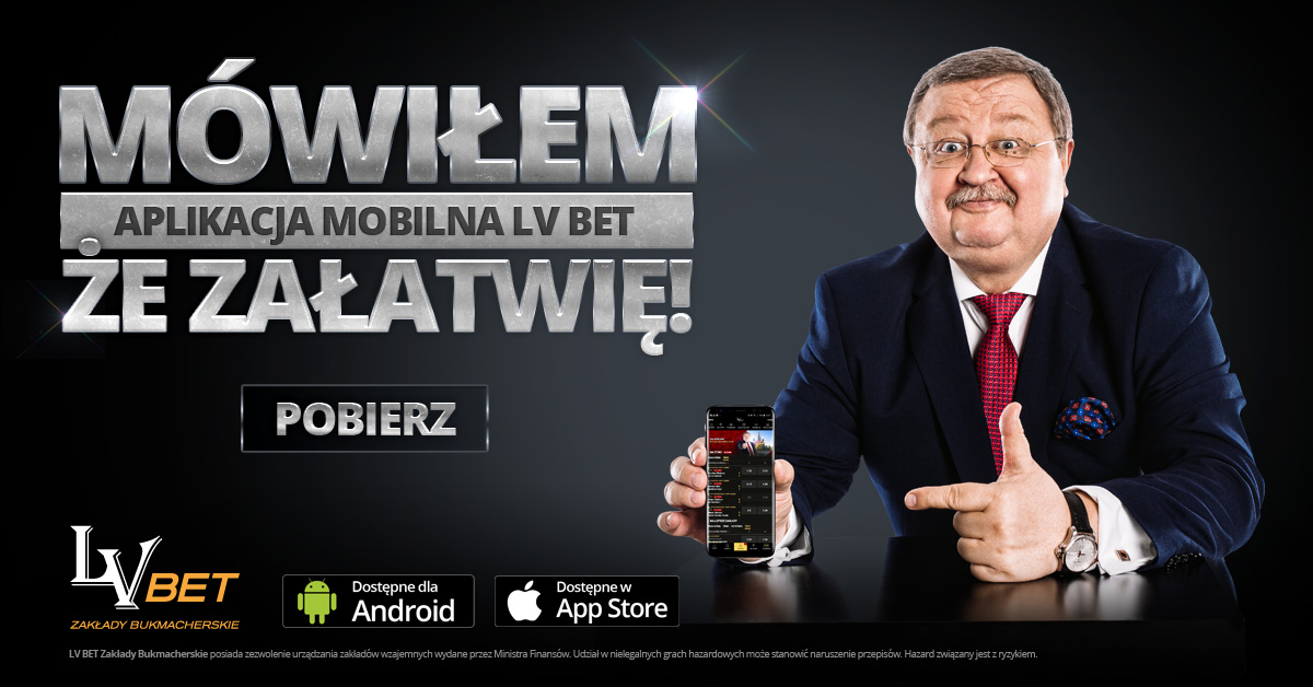 Aplikacja mobilna LV BET – obstawiaj gdzie chcesz!