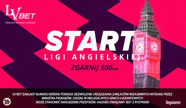 500 PLN od LV BET na start Ligi Angielskiej