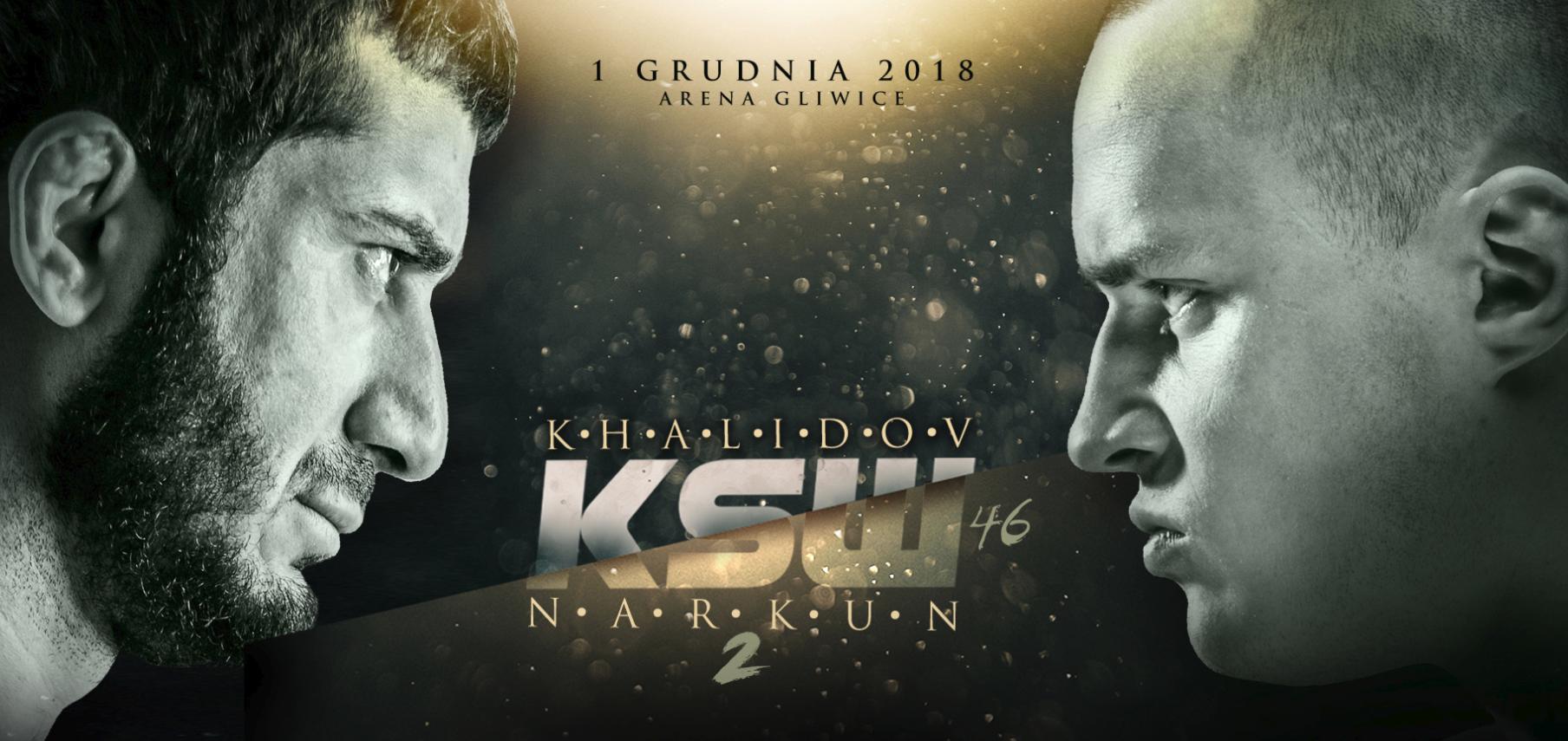 KSW 46: Gala w Gliwicach na początku stycznia